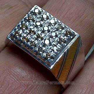 Cincin Berlian Natural Diamond - ZP 1033