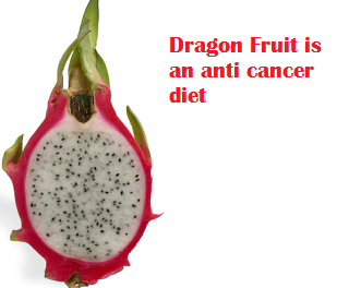Dragon Fruit is an anti cancer diet