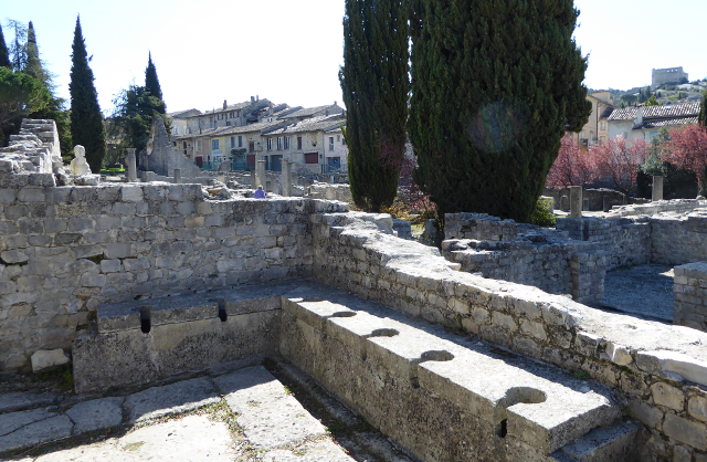 Latrines romanes