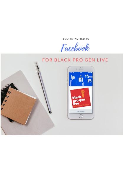 Black Pro Gen LIVE