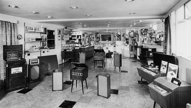 Inside The Oxford Street Hmv Store In The 1960s Vintage