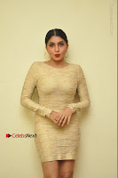 Actress Pooja Roshan Stills in Golden Short Dress at Box Movie Audio Launch  0141.JPG