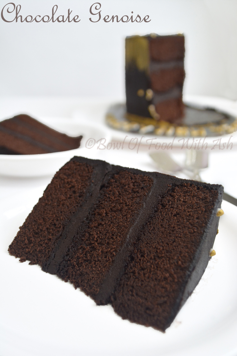 Chocolate Genoise Recipe | How to Make Simple Chocolate Genoise