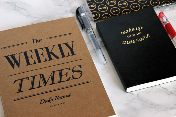 classic on the sidewalk - my planner week 1