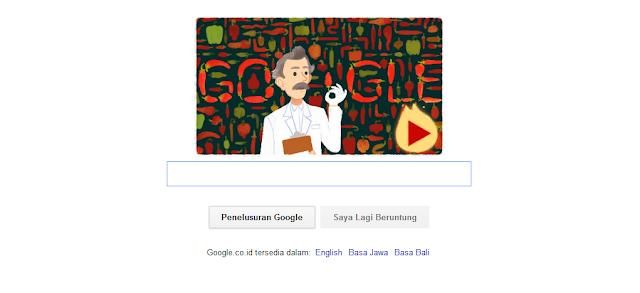 Siapakah Sosok Google Doodle Hari Ini?
