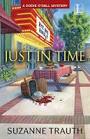 https://www.amazon.com/Just-Time-Dodie-ODell-Mystery-ebook/dp/B078QTBB4F/ref=sr_1_fkmr0_1?ie=UTF8&qid=1538574930&sr=8-1-fkmr0&keywords=justin+time+suzanne+trauth