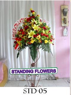 Karangan Bunga Standing Flower Pancoran