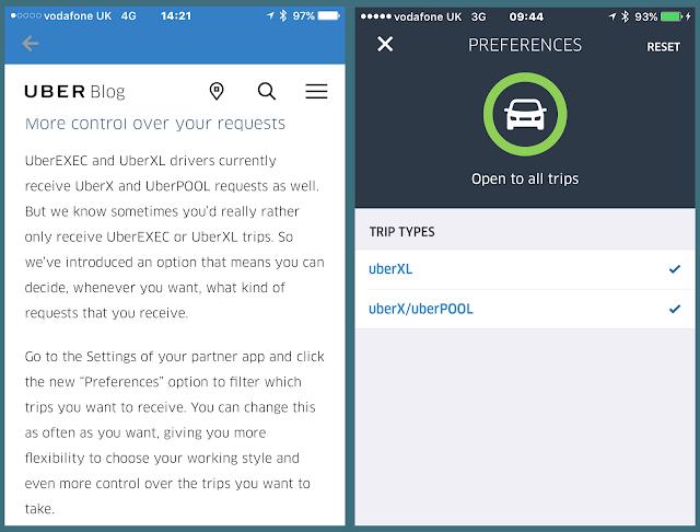 Uberholic Uberer: No more UberX or UberPool for XL