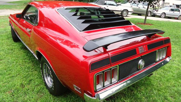 Daily Turismo 15k 1970 Ford Mustang Mach 1