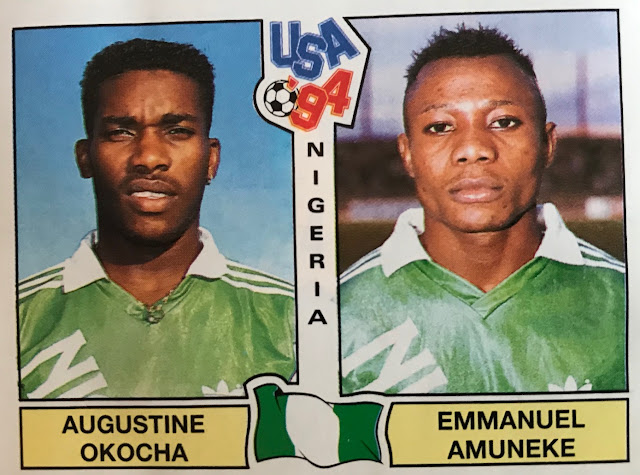 Figurine Nigeria Album Usa '94
