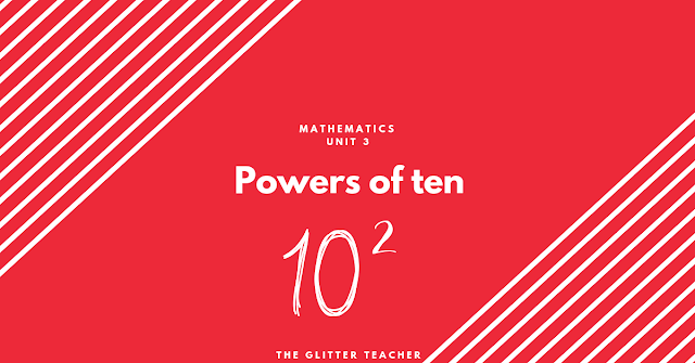 Powers of ten. Maths year 6