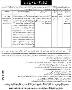 School Education Department Punjab Jobs 2019