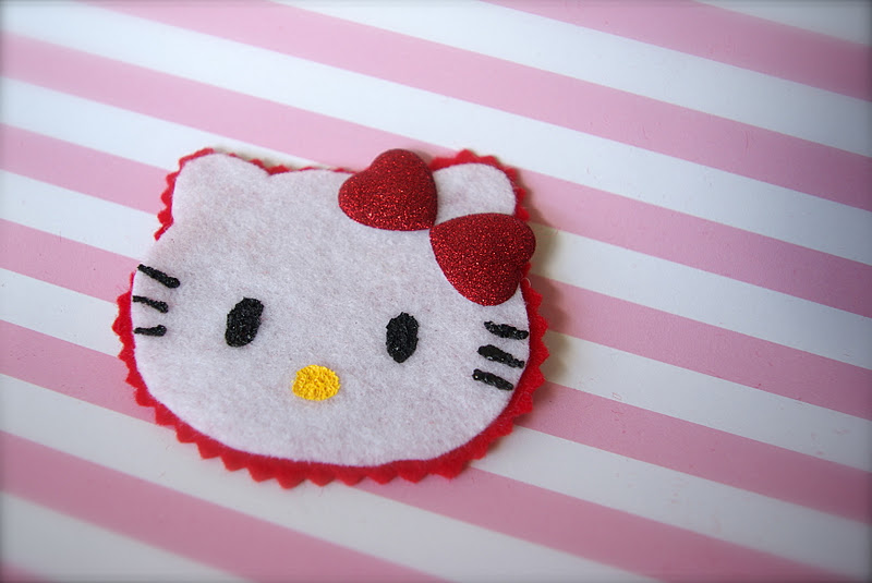 Hello Kitty Birthday Party Craft And Candy Oleander Palm