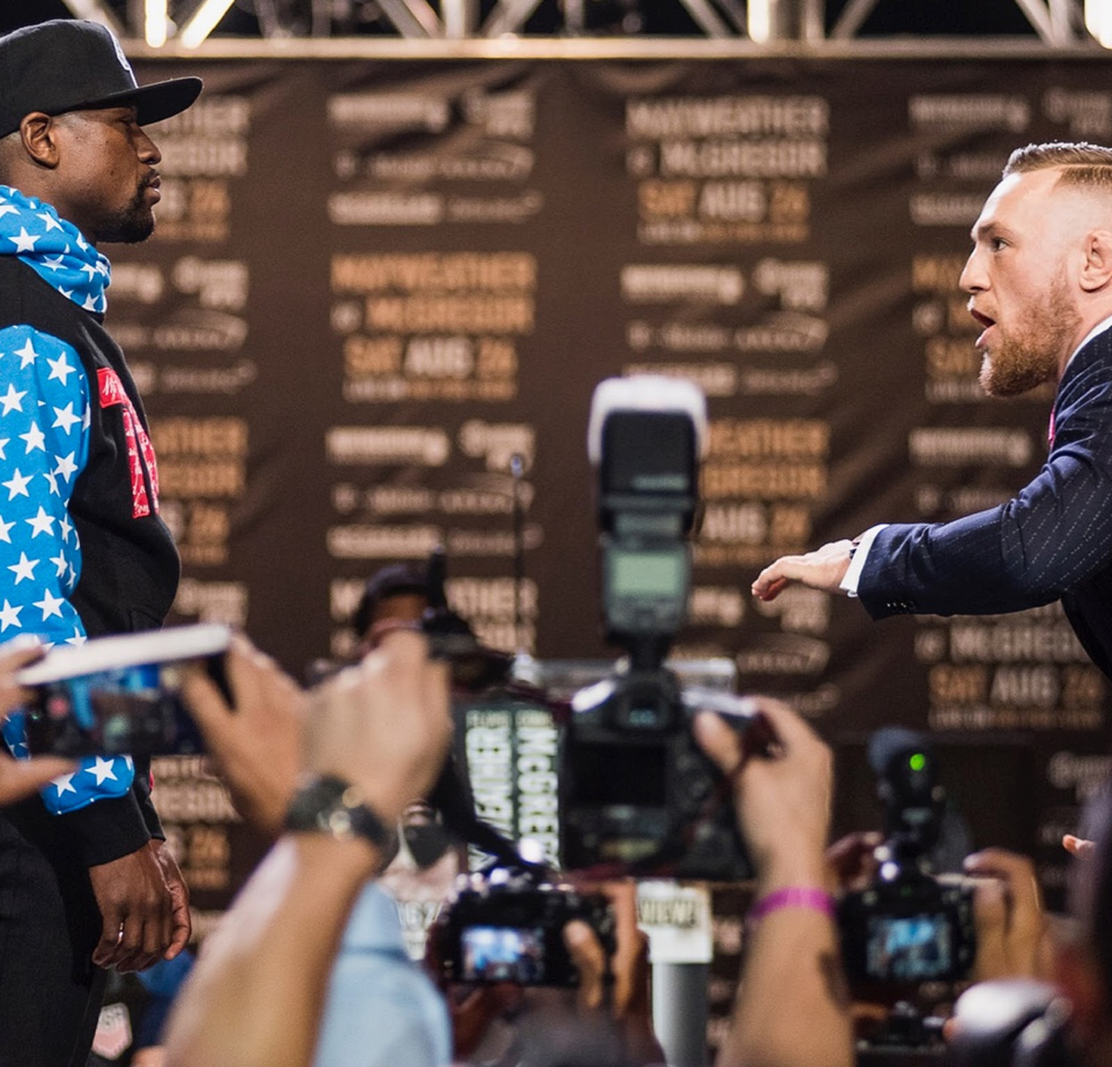 FLOYD MAYWEATHER VS. CONOR MCGREGOR 12