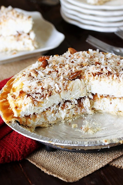 Frozen Coconut Caramel Pie Image