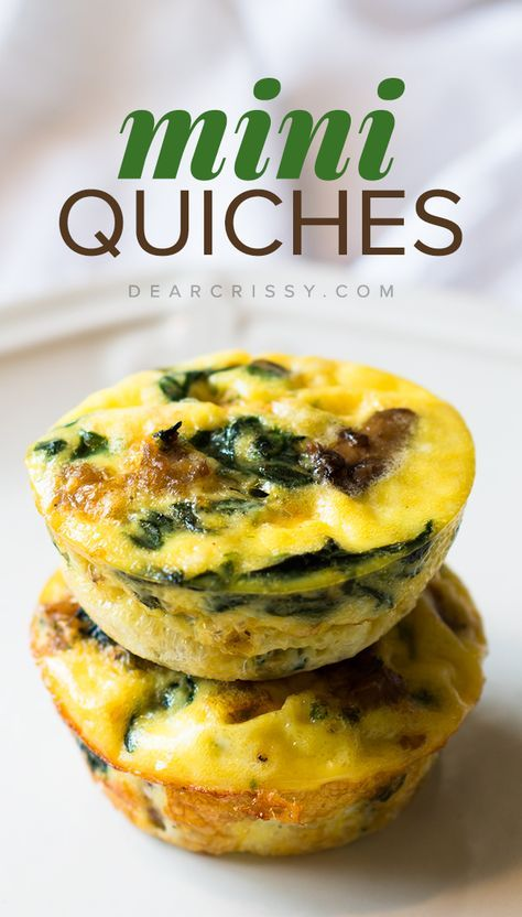 I've really been trying to mix up the breakfast routine in our home. Sometimes it's easy to get caught in a pattern of eating the same things over and over, so in an effort to cook a light and nutritious breakfast to start the day, I decided to make this super crustless mini quiches recipe featuring delicious sausage and veggies!