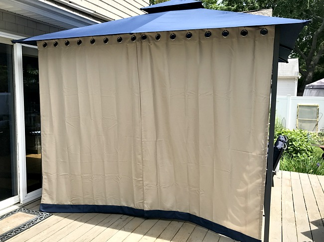 Diy Gazebo Curtains For Sun Protection