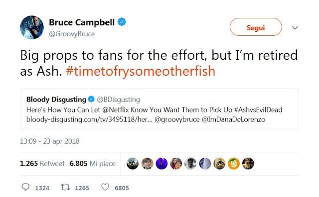 Bruce Campbell tweet