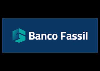 Banco Fassil Fondo Azul Logo Vector