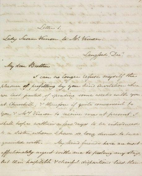 Lady Susan Jane Austen manuscript