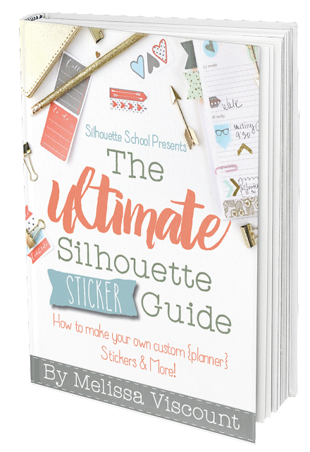 Silhouette, Silhouette Sticker, Ultimate Silhouette Sticker Guide, Silhouette School