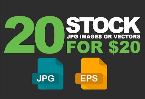 20 Stock HQ jpg or EPS vector image for $20