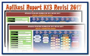 Download Aplikasi Raport K-13 Revisi 2018
