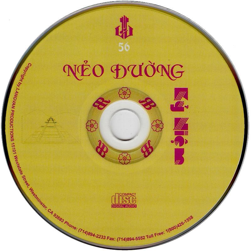 Làng Văn CD056 - Thiên Trang - Nẻo Đường Kỷ Niệm (NRG) + bìa scan mới