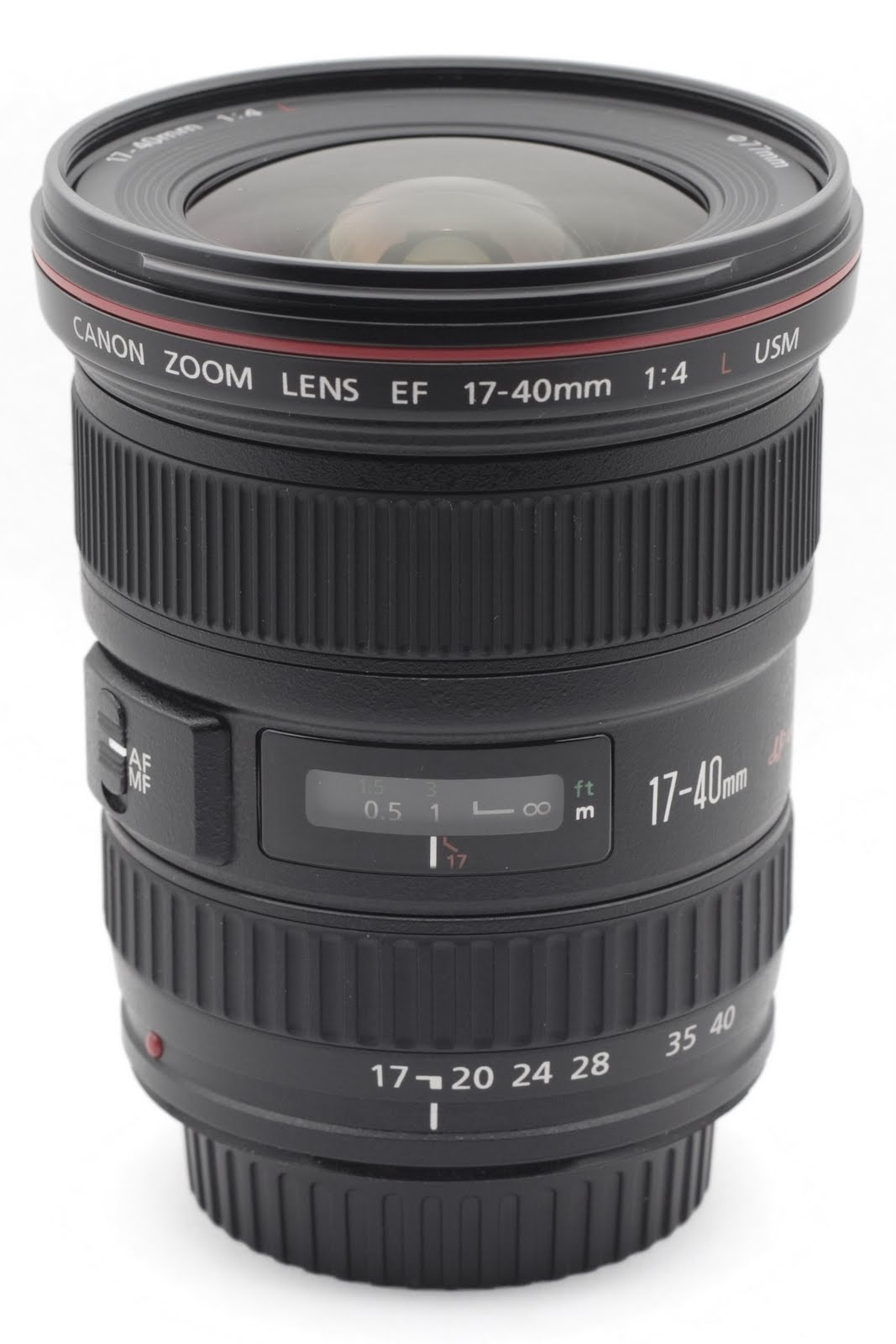 Canon Ef 17 40mm F 4l Usm Ultra Wide Zoom Lens Technical Specs