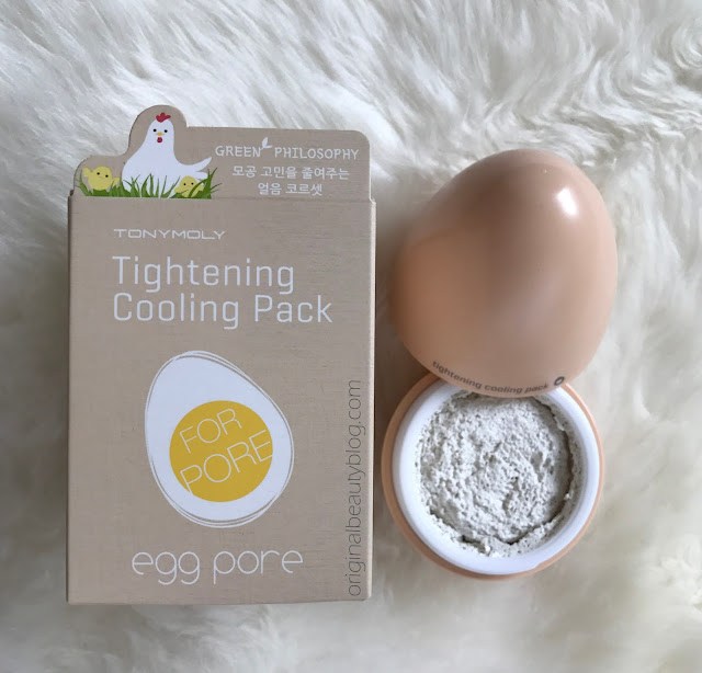 TonyMoly Egg Pore Tightening Cooling Pack 30gr