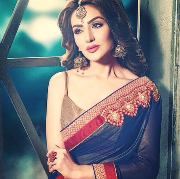 Sudeepa Singh in Saree