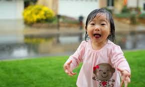 Alegria de uma criança