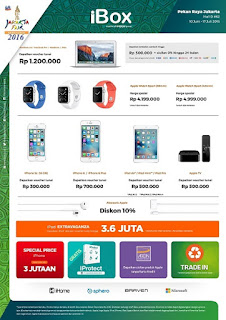 Promo iBox di Jakarta Fair 10 Juni - 17 Juli 2016 (PRJ)