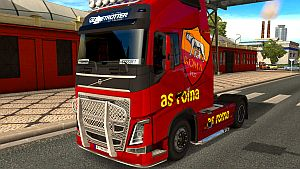 AS Roma skin for Volvo 2012