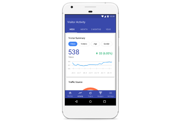 Google releases Blog Compass app for Android