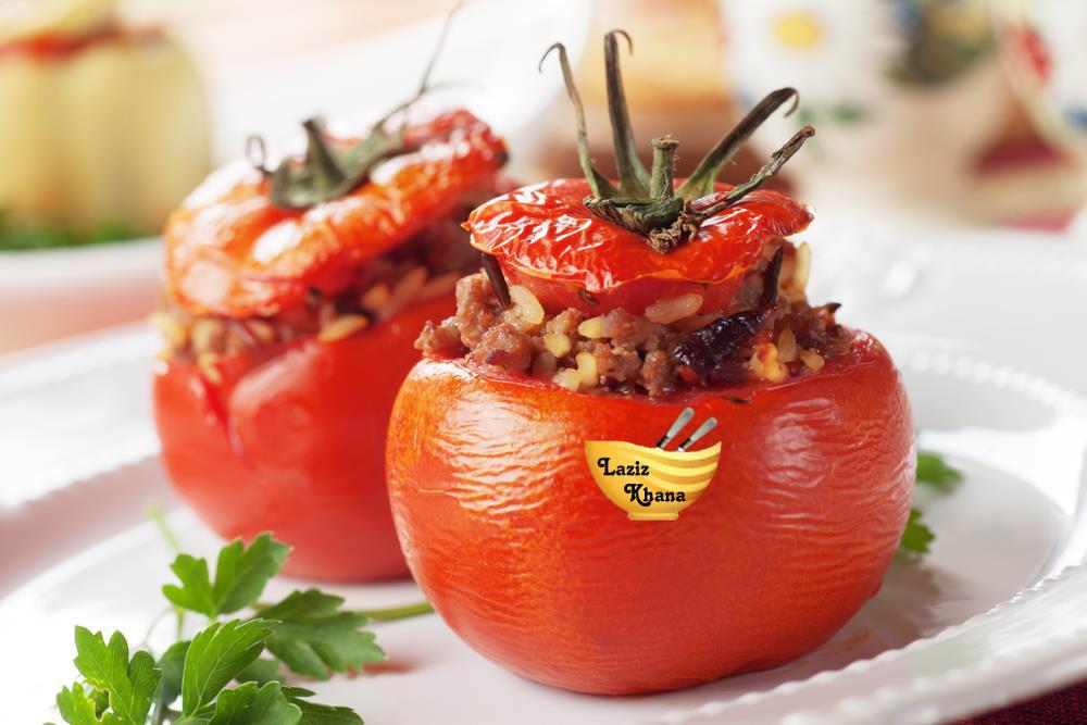 भरवां टमाटर बनाने की विधि – Stuffed Tomato Recipe in Hindi