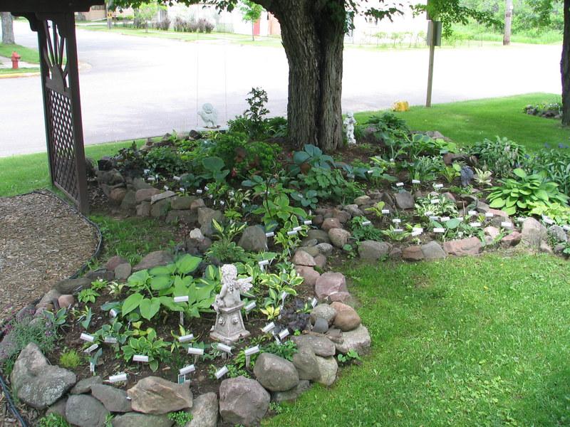 building stone raised garden beds