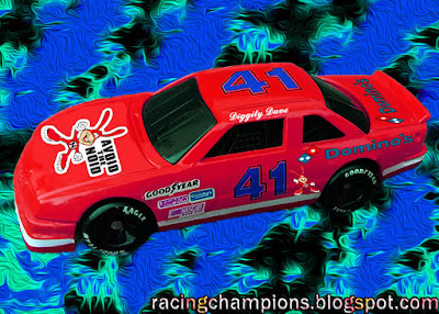 Diggity Dave #41 Domino's Pizza Avoid the Noid Racing Champions 1/64 NASCAR diecast blog custom