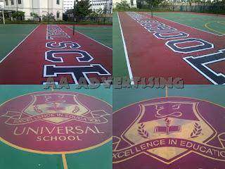 gambar Branding Lapangan kemayoran Jakarta utara