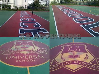 Branding Lapangan kemayoran Jakarta Pusat