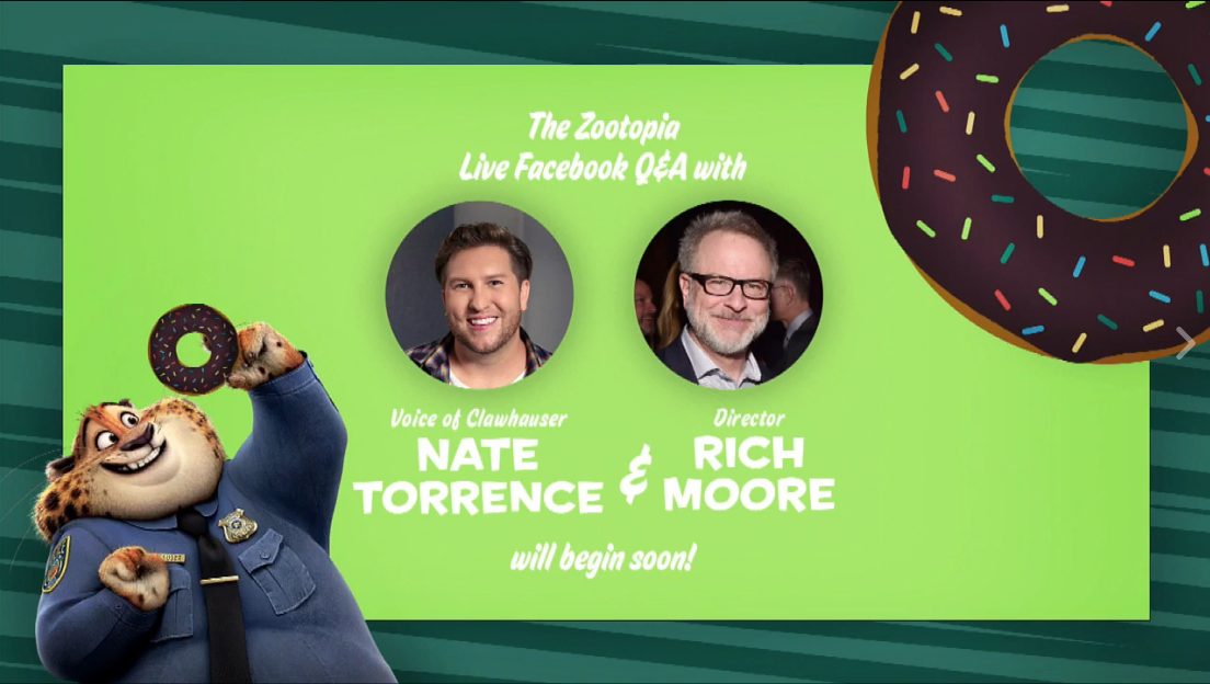 Full Q&A with Rich Moore and Nate Torrence!
