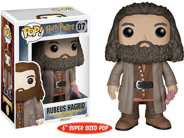 Boneco Funko Pop Harry Potter Hagrid