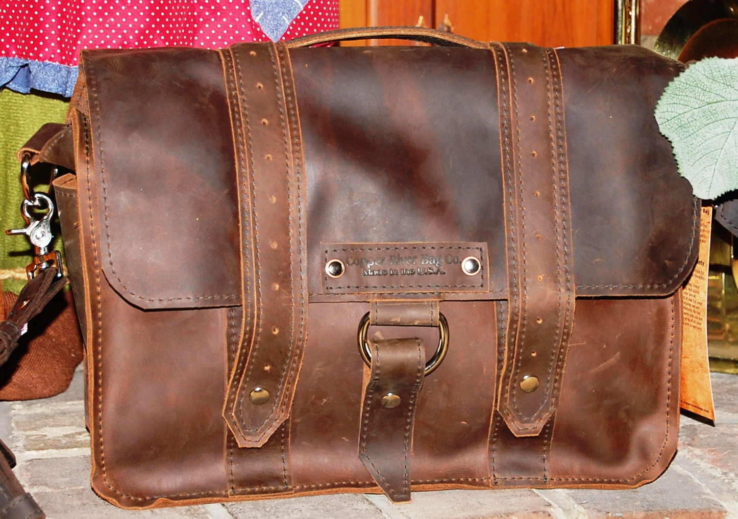Adventures Only Begin When You Get A Leather Bag From Copper River Review