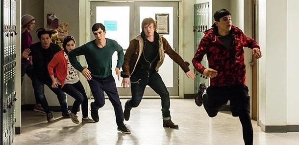 Nastolatki walczą z zombie