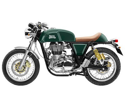 Royal Enfield Continental GT green wallpaper