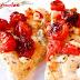 Focaccia con tomates cherry asados y esgarraet