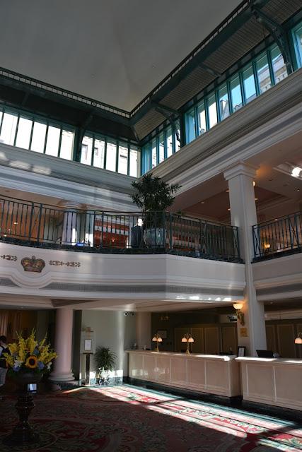 Empress Hotel Victoria Island lobby