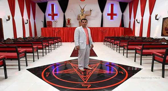 Video, Gereja Lucifer / Penganut Setan Dibuka Di Kolombia