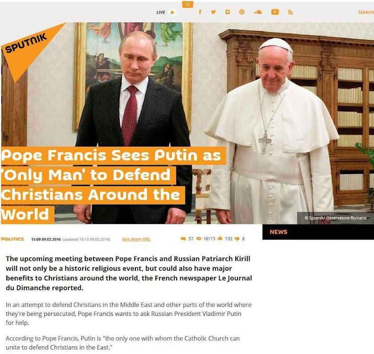 Para a desinformação russa a única verdade é a que serve ao chefe supremo.
