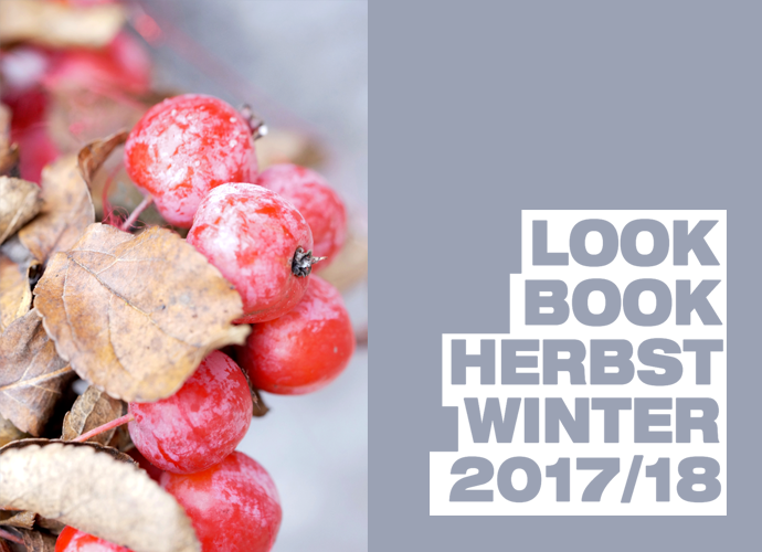 Lookbook, Herbst Winter 2017, Blätterbuch